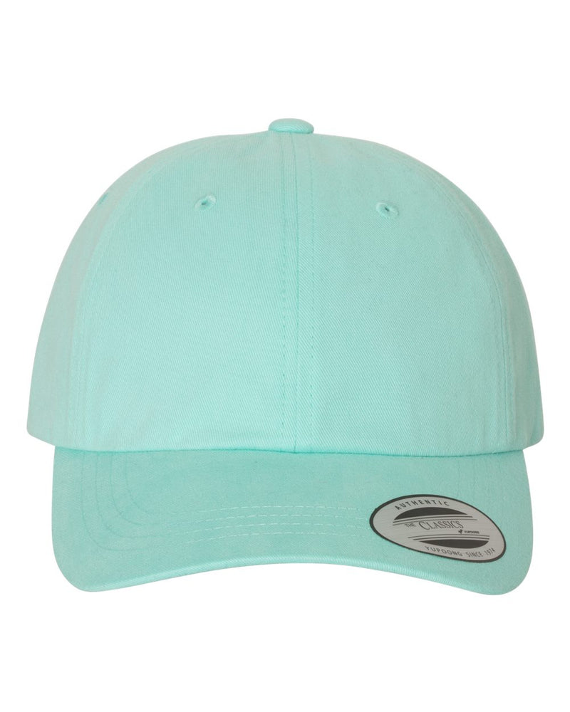 Peached Twill Dad's Cap-Yupoong-Pacific Brandwear