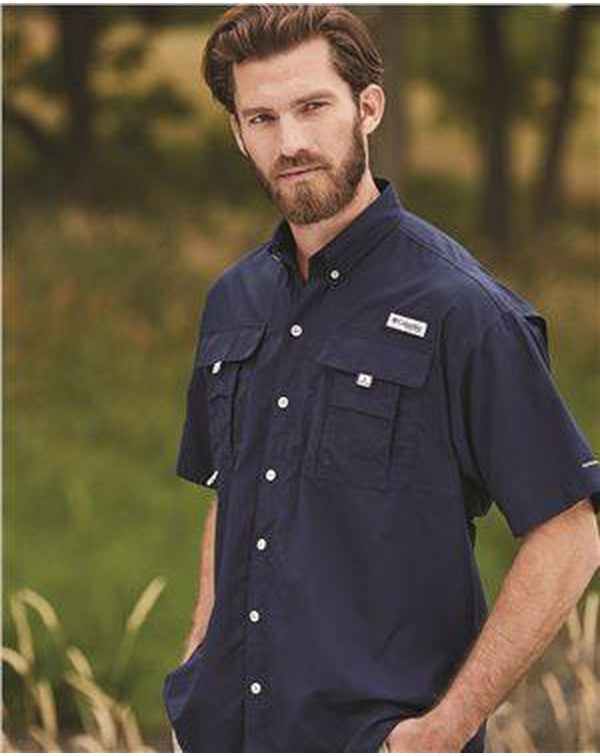 PFG Bahama II Short Sleeve Shirt-Columbia-Pacific Brandwear