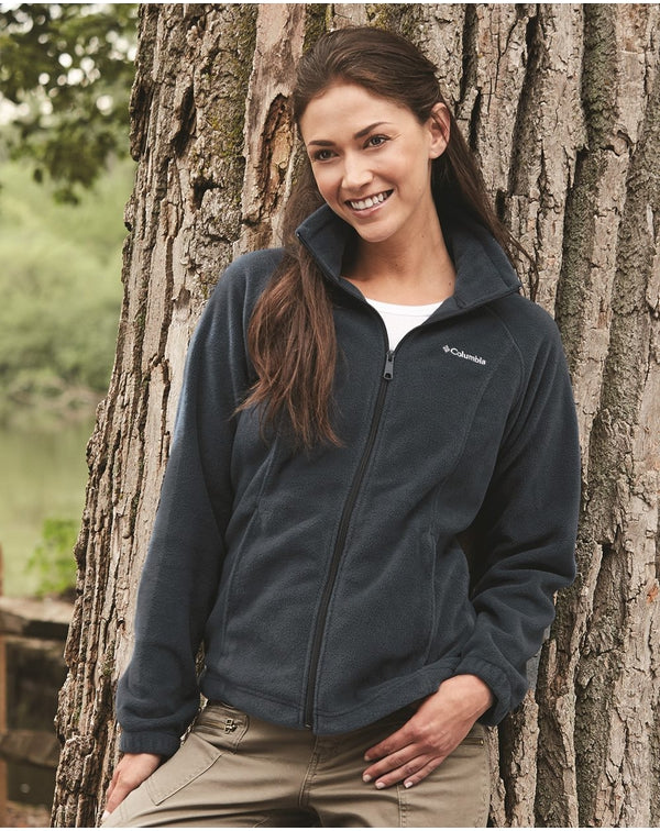 Women's Benton Springs Fleece Full-Zip Jacket-Columbia-Pacific Brandwear