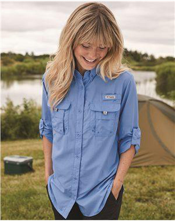 Women's PFG Bahama Long Sleeve Shirt-Columbia-Pacific Brandwear