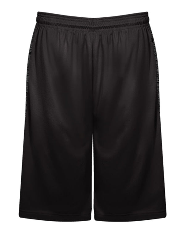 Youth Tonal Blend Panel Shorts-Badger-Pacific Brandwear