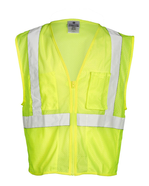 Self Extinguishing Mesh Vest-ML Kishigo-Pacific Brandwear