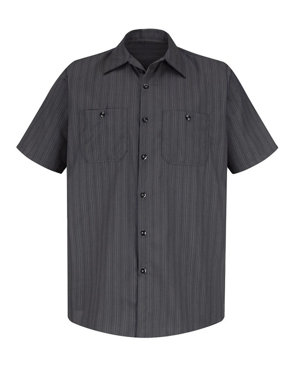 Premium Short sleeve Work Shirt-Red Kap-Pacific Brandwear