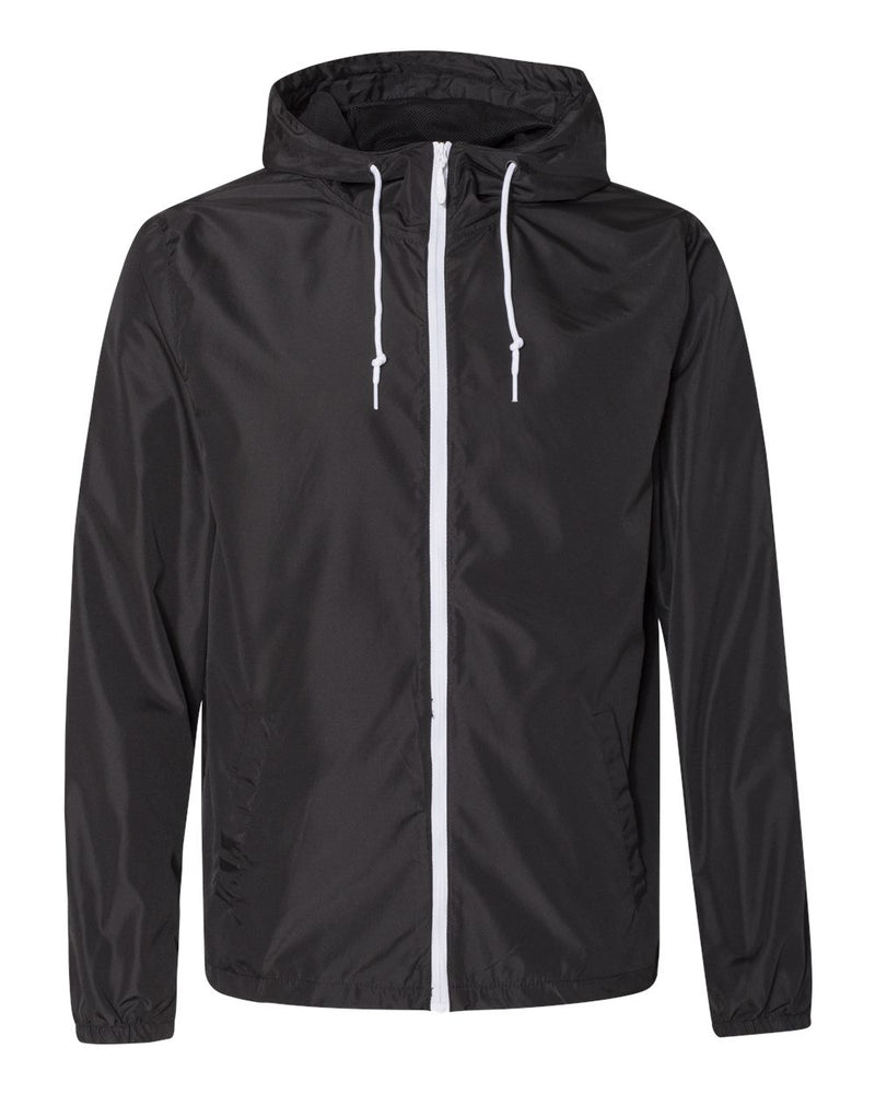 Water-Resistant Lightweight Windbreaker-Independent Trading Co.-Pacific Brandwear