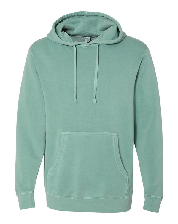 Heavyweight Pigment-Dyed Hooded SweatShirt-Independent Trading Co.-Pacific Brandwear