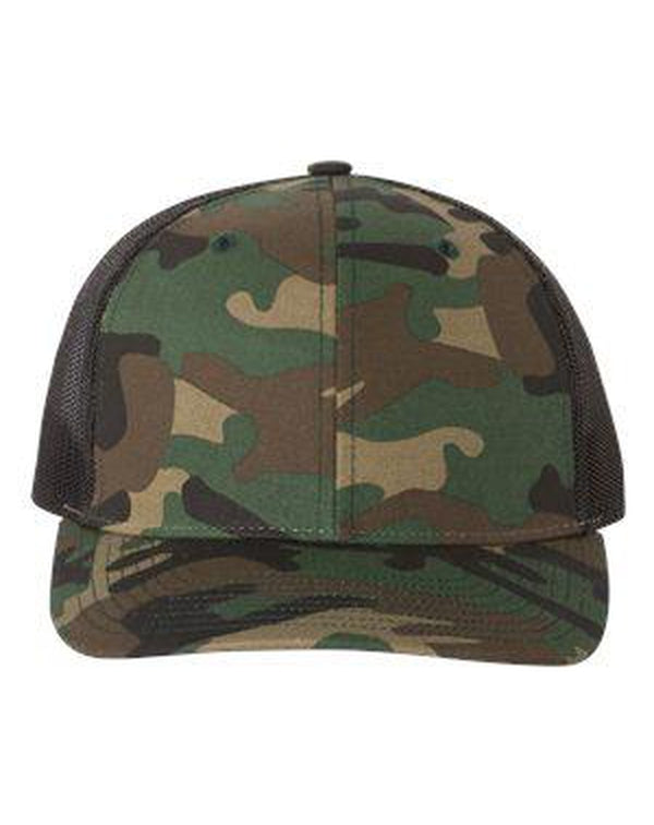 Patterned Snapback Trucker Cap-Richardson-Pacific Brandwear