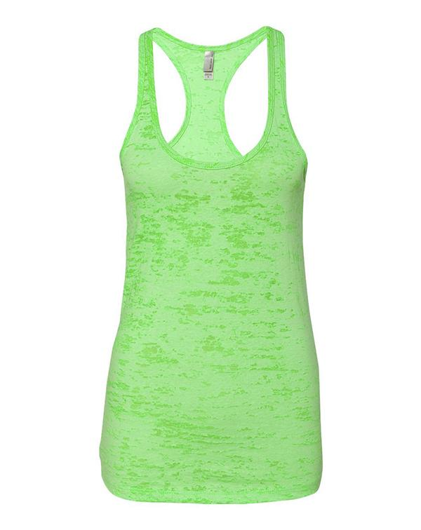 Next Level Women's Burnout Racerback Tank-Next Level-Pacific Brandwear