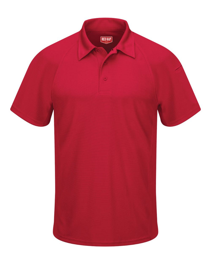 Performance Knit Flex Series Active Polo-Red Kap-Pacific Brandwear