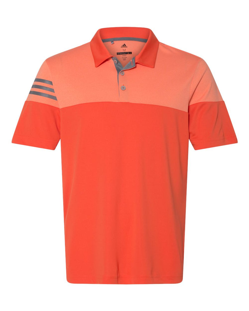 Heather 3-Stripes Block Sport Shirt-Adidas-Pacific Brandwear