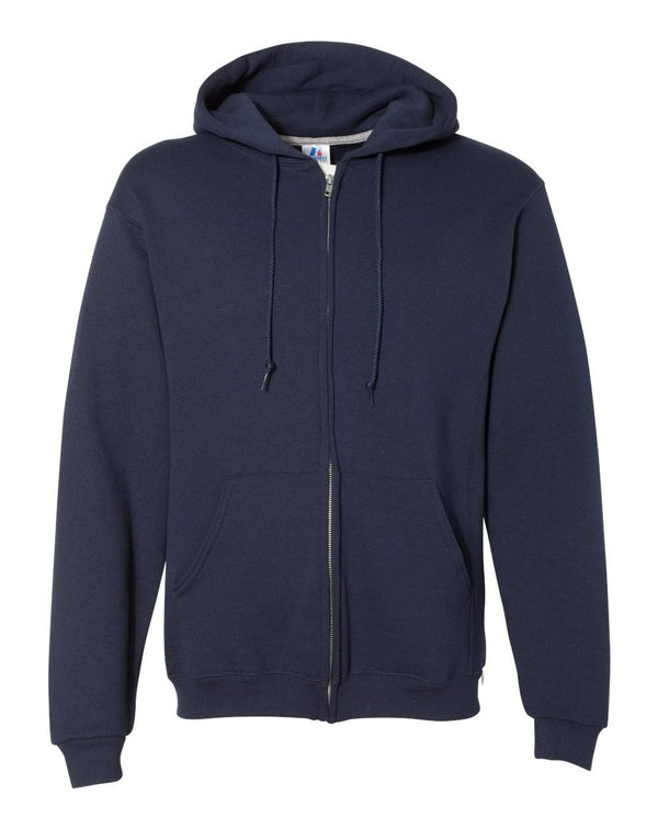 Dri Power Hooded Full-Zip Sweatshirt-Russell Athletic-Pacific Brandwear