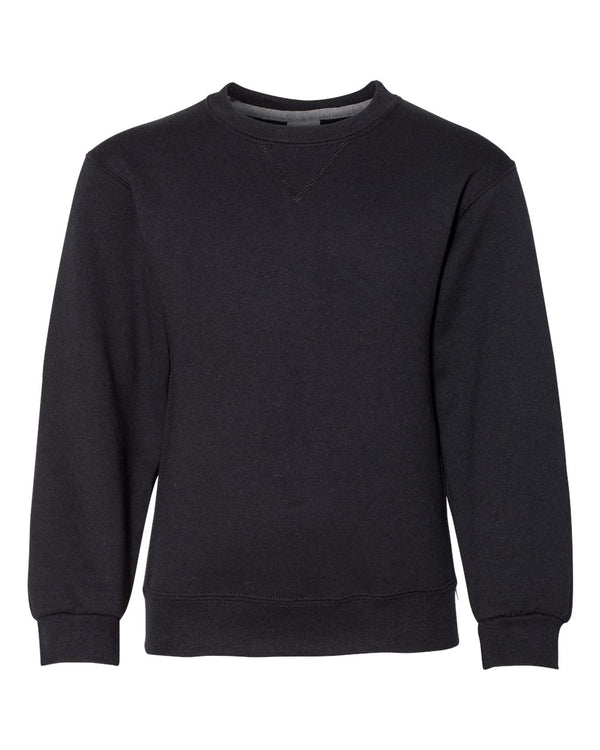 Youth Dri Power Crewneck SweatShirt-Russell Athletic-Pacific Brandwear