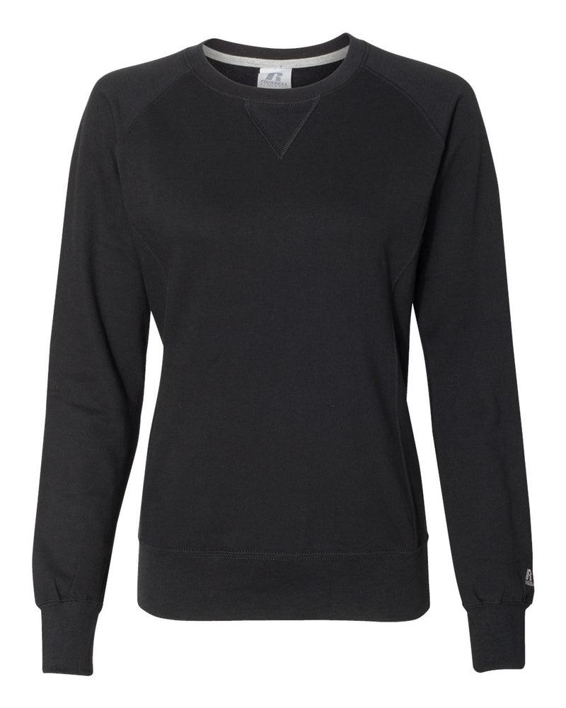 Women's Lightweight Crewneck SweatShirt-Russell Athletic-Pacific Brandwear