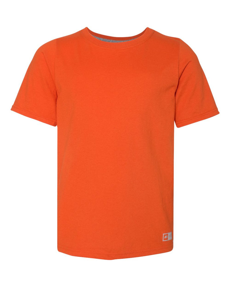Youth Essential 60/40 Performance T-Shirt-Russell Athletic-Pacific Brandwear