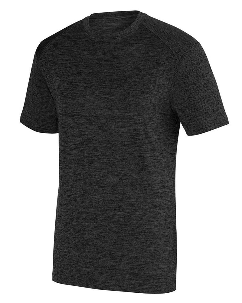 Intensify Black Heather Training T-Shirt-Augusta Sportswear-Pacific Brandwear