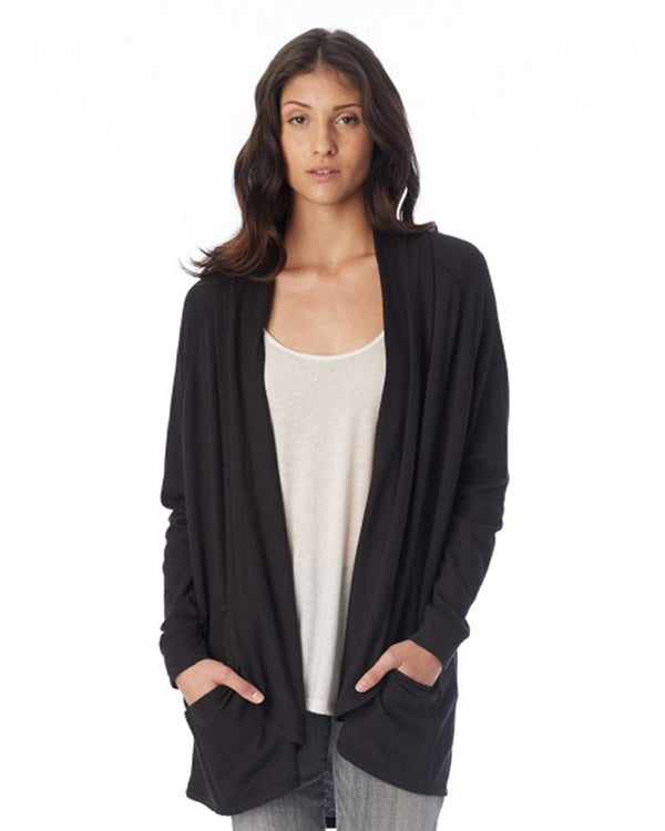 Women's Zen Vintage Heavy Knit Wrap-Alternative Apparel-Pacific Brandwear
