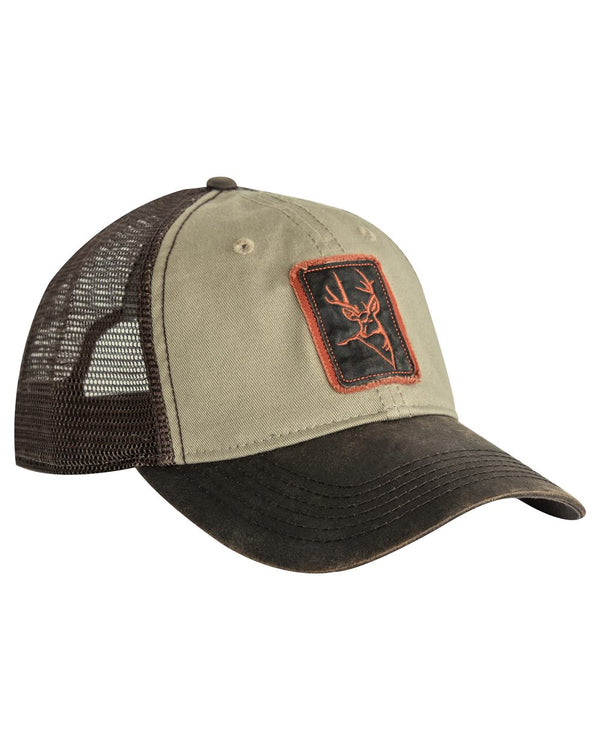 Waxy Cotton Trucker Buck Icon Cap-DRI DUCK-Pacific Brandwear