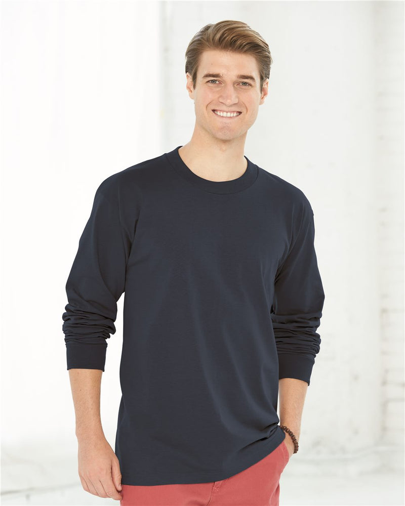 USA-Made Long sleeve T-Shirt-Bayside-Pacific Brandwear