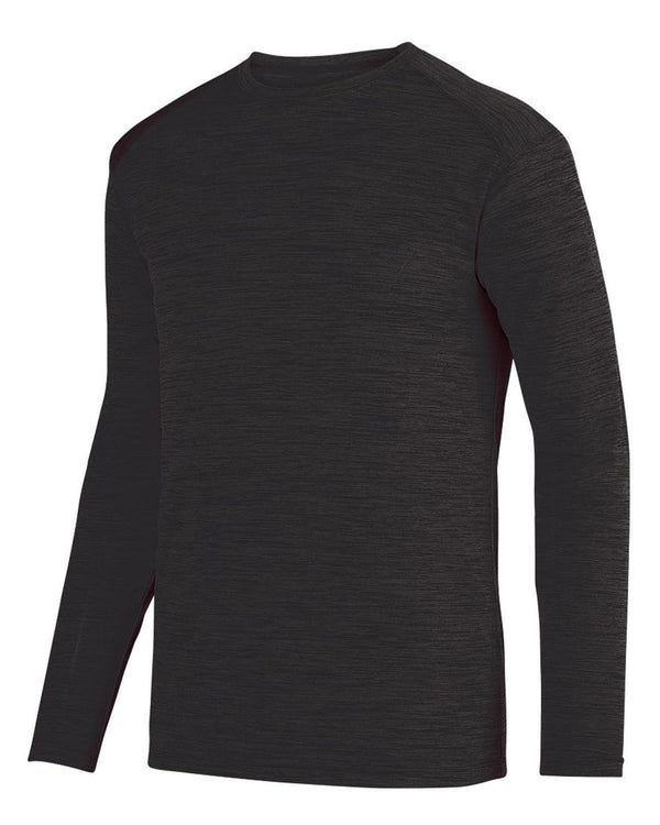 Shadow Tonal Heather Long sleeve T-Shirt-Augusta Sportswear-Pacific Brandwear