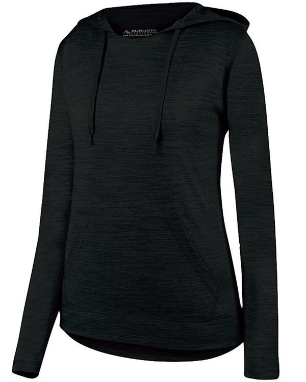 Women's Shadow Tonal Heather Hoodie-Augusta Sportswear-Pacific Brandwear