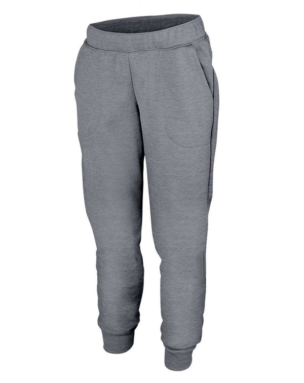 Women's Tonal Heather Fleece Joggers-Augusta Sportswear-Pacific Brandwear