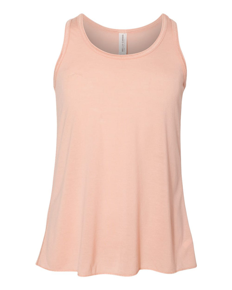 Youth Flowy Racerback Tank-BELLA + CANVAS-Pacific Brandwear