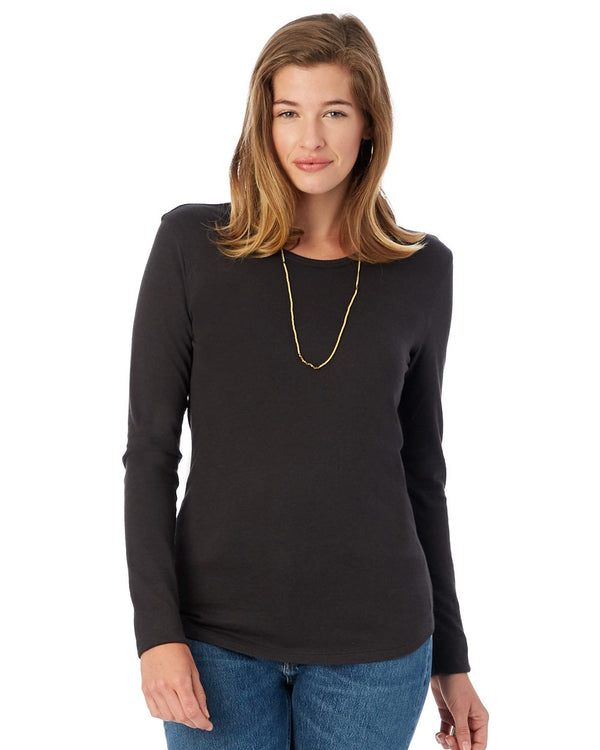 Women's Keepsake Long sleeve T-Shirt-Alternative Apparel-Pacific Brandwear