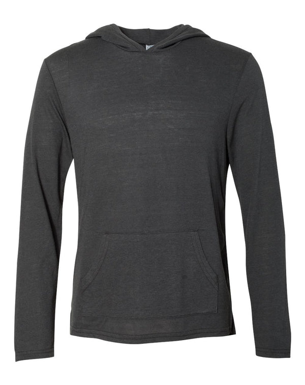 Eco-Jersey Marathon Hooded Pullover T-Shirt-Alternative Apparel-Pacific Brandwear