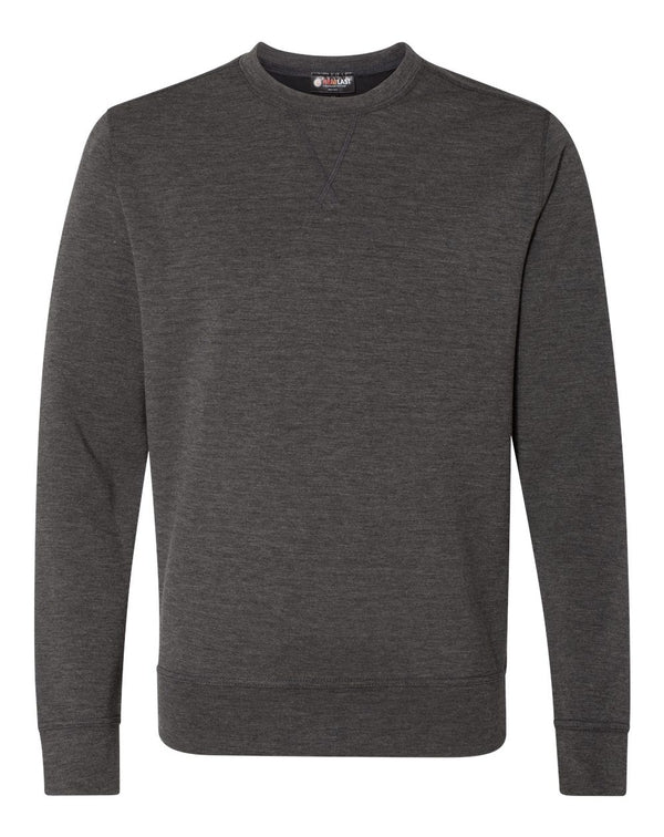 Heat Last Fleece Tech Crewneck Sweatshirt-Weatherproof-Pacific Brandwear