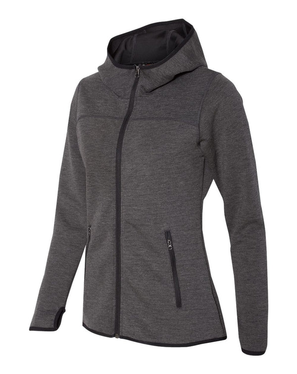 Weatherproof Heat Last Women's Fleece Tech Hooded Full-Zip Sweatshirt-Weatherproof-Pacific Brandwear