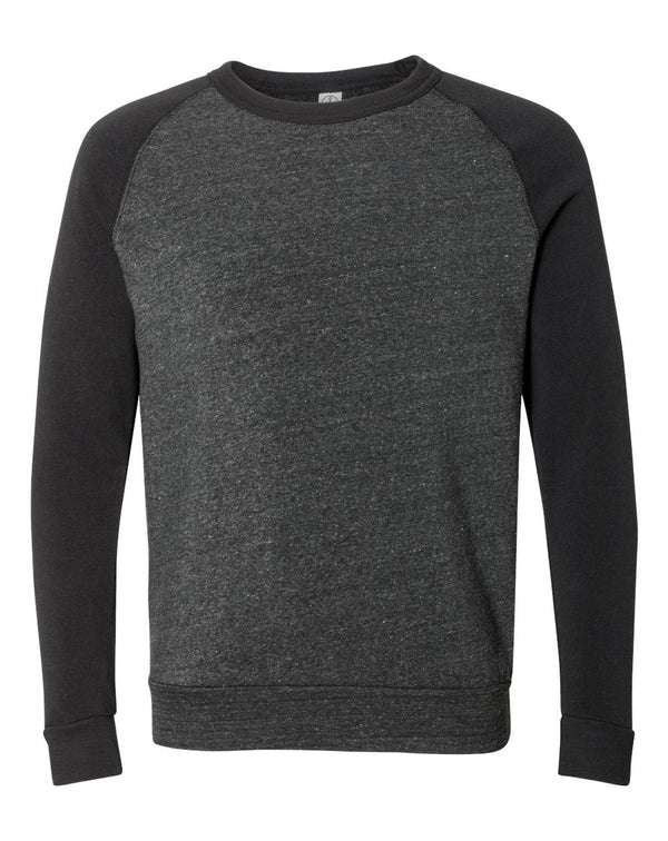 Champ Eco-Fleece Colorblocked SweatShirt-Alternative Apparel-Pacific Brandwear