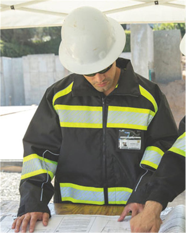 Enhanced Visibility Premium Jacket-ML Kishigo-Pacific Brandwear