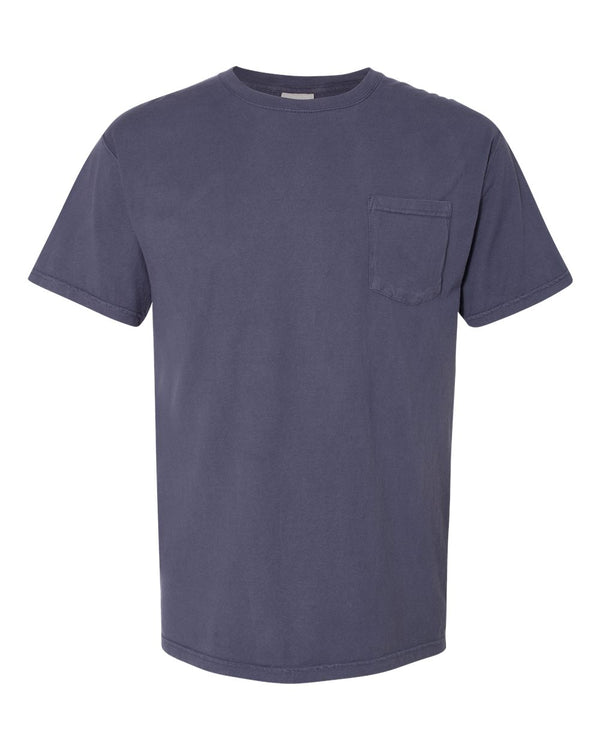 Garment-Dyed Pocket T-Shirt-ComfortWash by Hanes-Pacific Brandwear