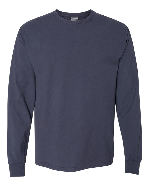 Garment Dyed Long sleeve T-Shirt-ComfortWash by Hanes-Pacific Brandwear