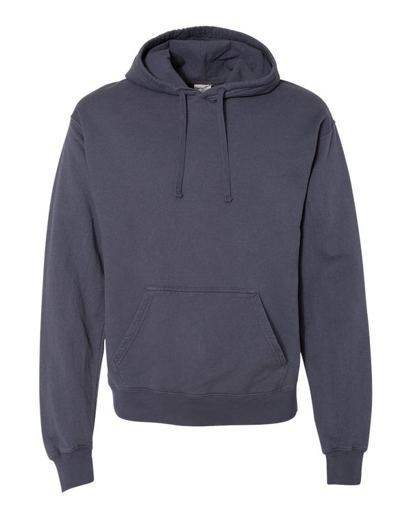 Garment Dyed Unisex Hooded Pullover Sweatshirt-ComfortWash by Hanes-Pacific Brandwear