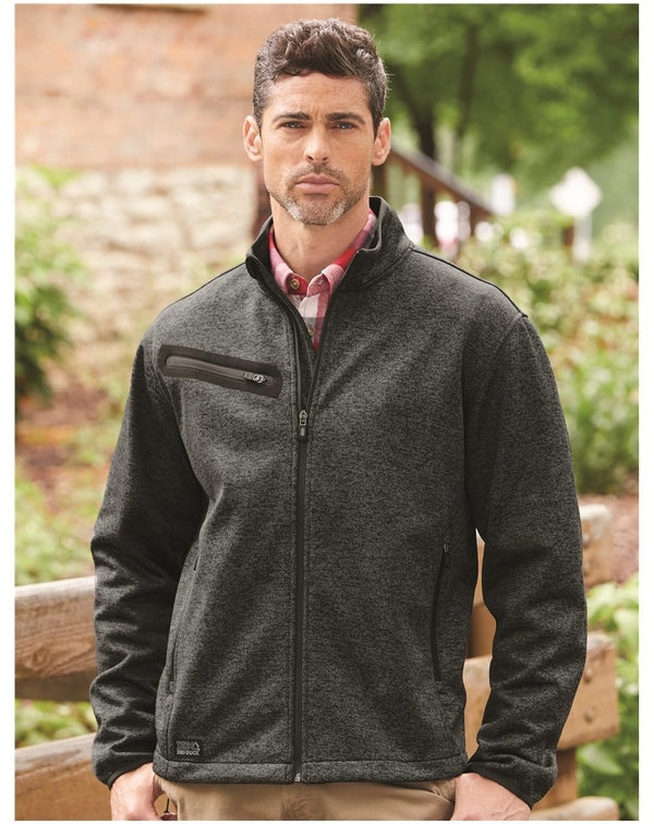 Atlas Sweater Fleece Full-Zip Jacket-DRI DUCK-Pacific Brandwear