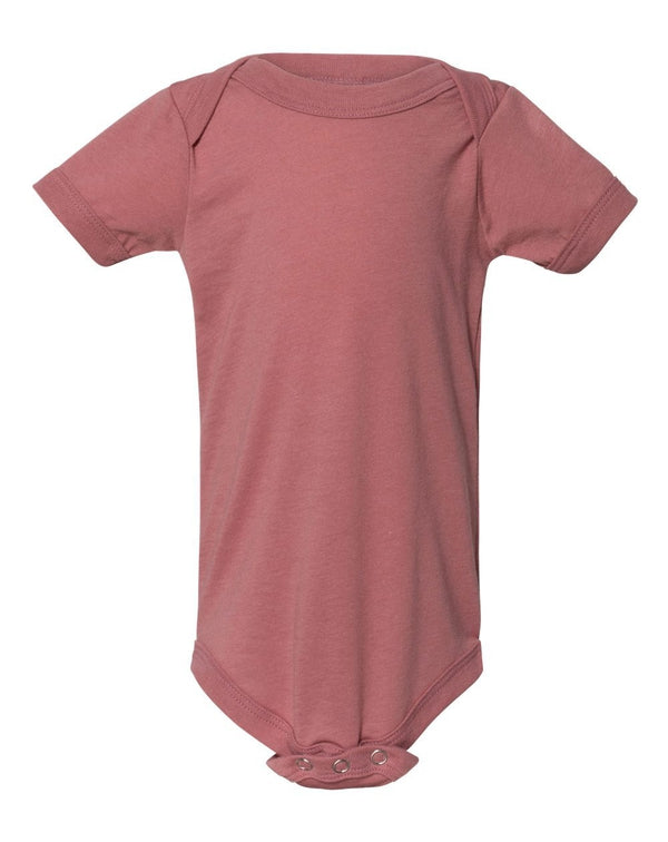 Baby Triblend Short Sleeve One Piece-BELLA + CANVAS-Pacific Brandwear