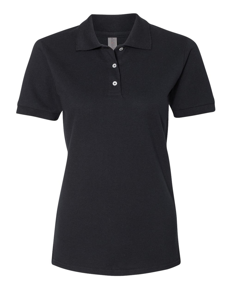 Women's 100% Ringspun Cotton Pique Sport Shirt-JERZEES-Pacific Brandwear