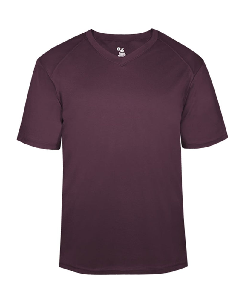 B-Core V-Neck T-Shirt-Badger-Pacific Brandwear