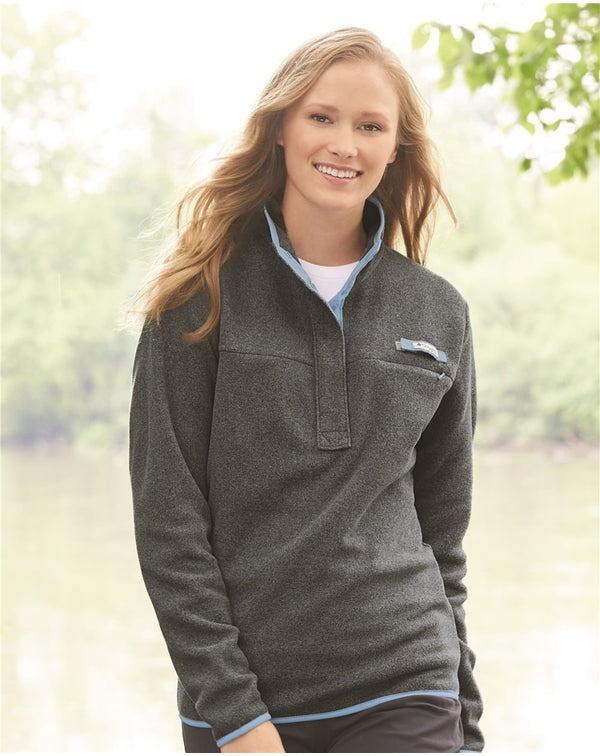 Women's PFG Harborside Fleece Pullover-Columbia-Pacific Brandwear
