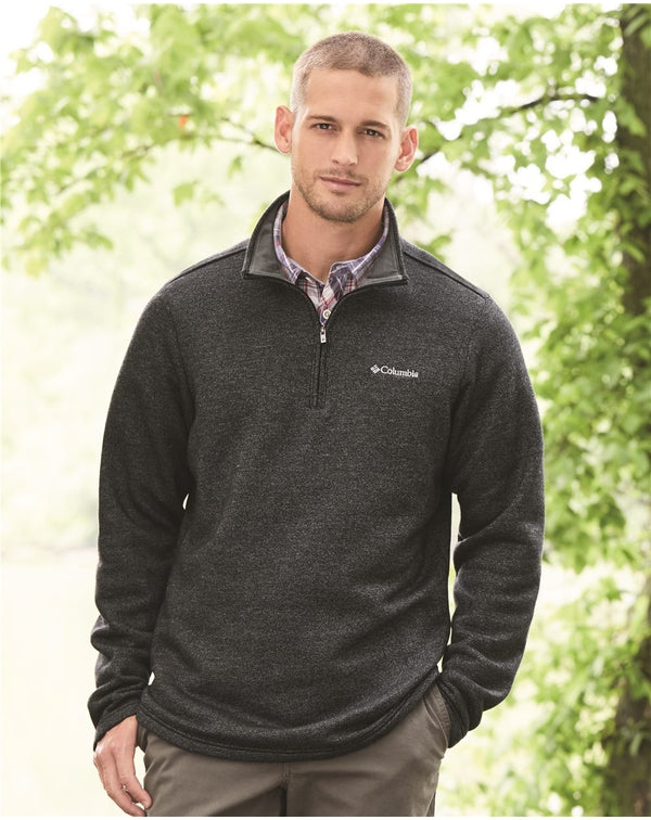 Columbia Great Hart Mountain III Half-Zip Fleece-Columbia-Pacific Brandwear