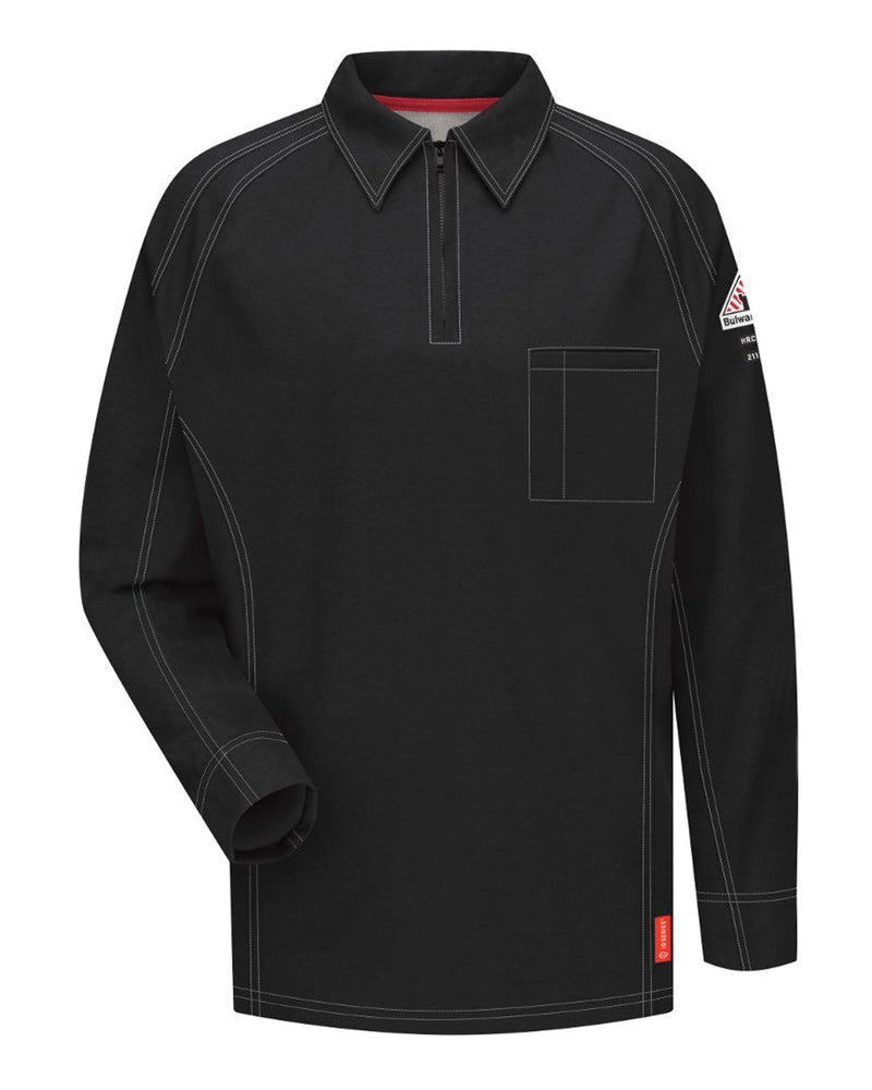 Long sleeve Polo-Bulwark-Pacific Brandwear