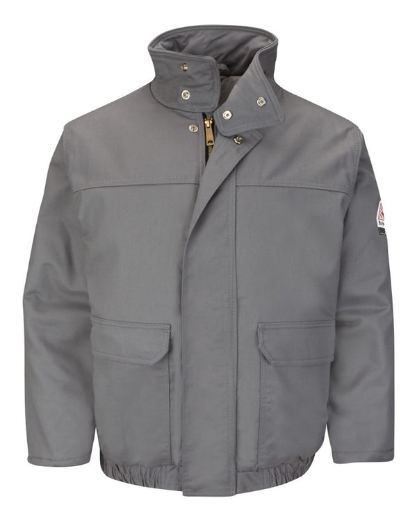 Insulated Bomber Jacket Long Sizes-Bulwark-Pacific Brandwear