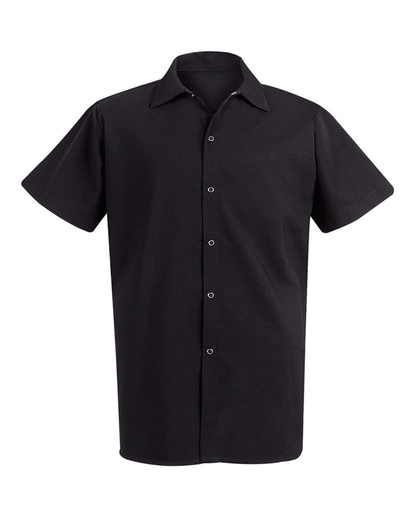 100% Spun Polyester Cook Shirt-Chef Designs-Pacific Brandwear