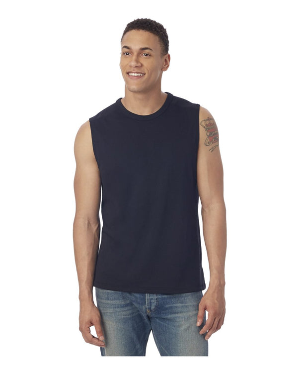 Keeper Vintage Jersey Muscle Tank Top-Alternative Apparel-Pacific Brandwear