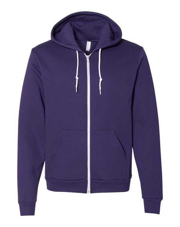 Flex Fleece Unisex Full-Zip Hoodie-American Apparel-Pacific Brandwear