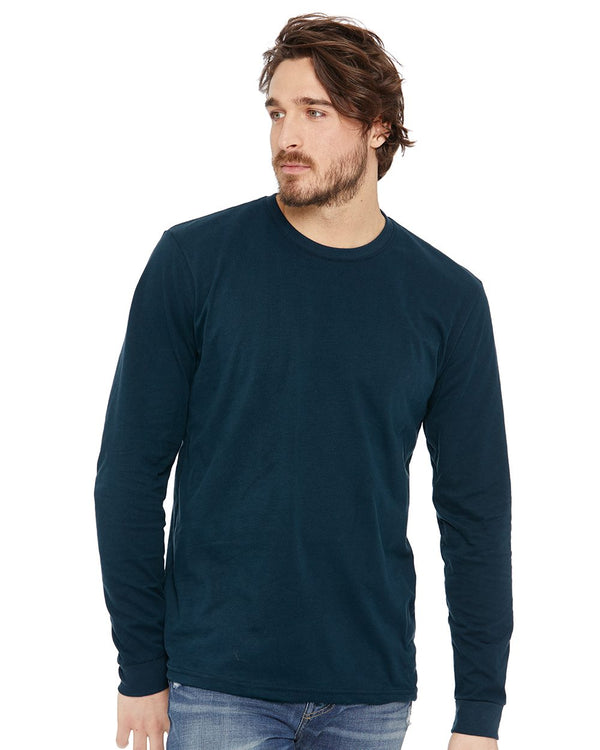 Sueded Long sleeve Crew-Next Level-Pacific Brandwear