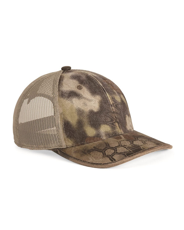 Weathered Bound Visor Trucker Cap-Outdoor Cap-Pacific Brandwear