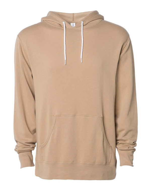 Unisex Lightweight Hooded Sweatshirt-Independent Trading Co.-Pacific Brandwear