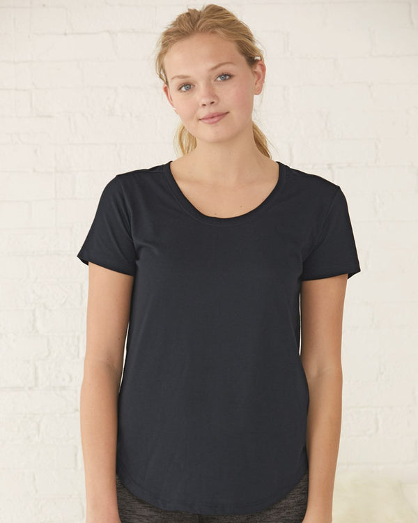 Women's At Ease Scoop Neck T-Shirt-Boxercraft-Pacific Brandwear