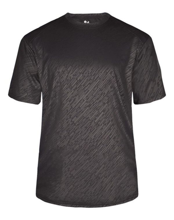 Youth Line Embossed T-Shirt-Badger-Pacific Brandwear
